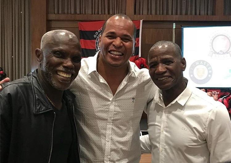 Ex-jogador do Flamengo, Aloísio Chulapa foi um dos homenageados pela Fla Nação