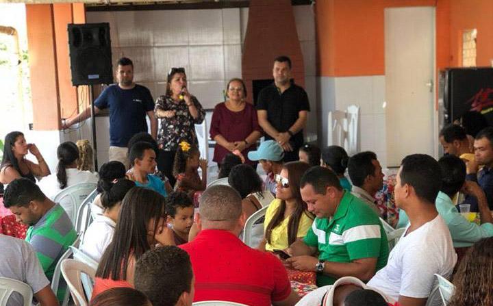 Vereadora Maria da Comesa reúne amigos e lideranças para apresentar Ângela Garrote como pré-candidata a deputada estadual
