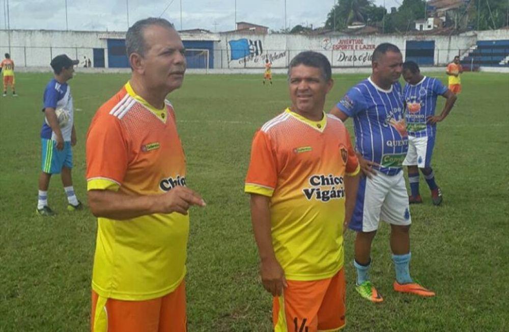 Chico Vigário jogou pela equipe do Sport Santo Antônio.