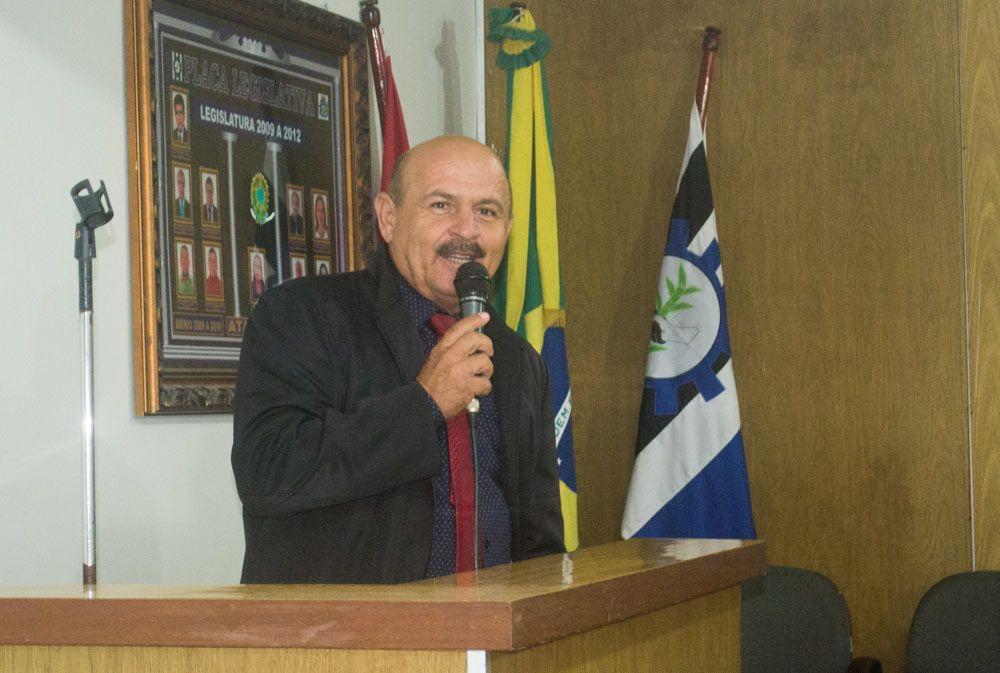 Vereador Marivaldo Souza está em seusegundo mandato no Legislativo Municipal.
