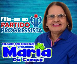 Vereadora Maria da Comesa