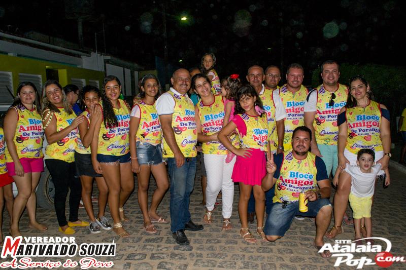 Bloco Amigos de Porangaba 2017 - Org. Vereador Marivaldo Souza
