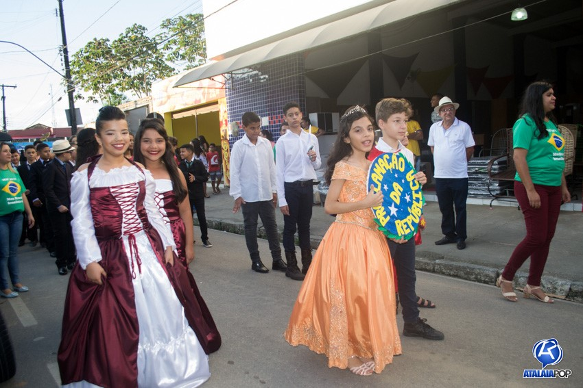 Desfile de Abertura da MAP 2018 do C. E. O Pequeno Príncipe