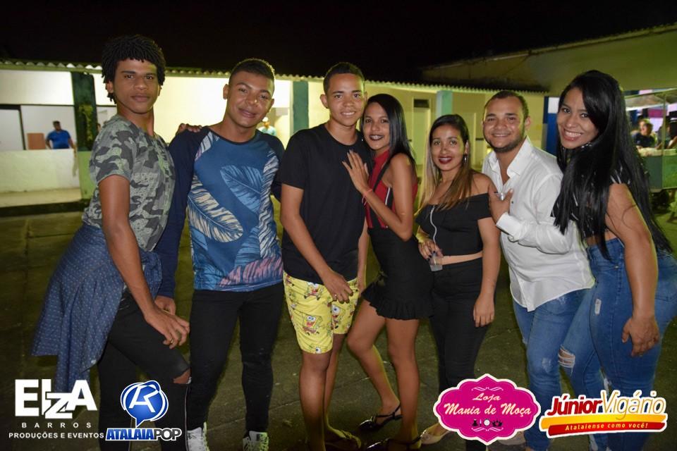 Show com a Banda Furacão Love e Guinho Farra - Realização: Elza Barros Produções e Eventos