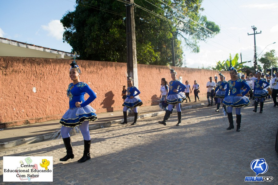 Desfile do Centro Educacional Educando com Saber (CEES) - Tema: Brasil!