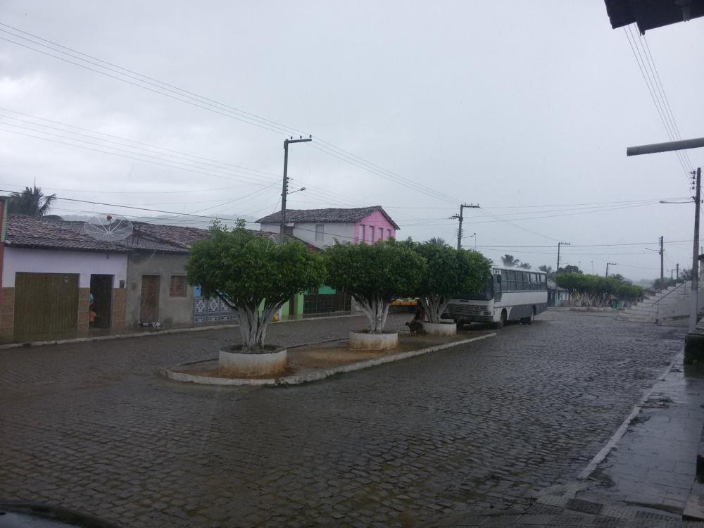 Grande temporal atingiu a Porangaba nesta quarta-feira. Foto: Arquivo Povoado Porangaba
