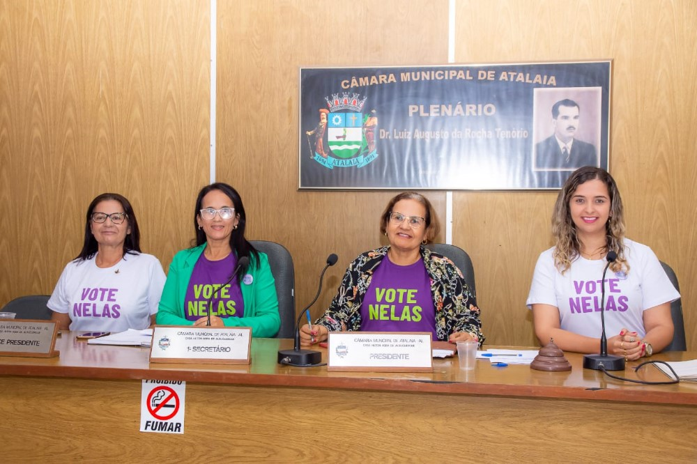 Sessão Ordinária da Câmara Municipal de Atalaia do dia 17 de março de 2020