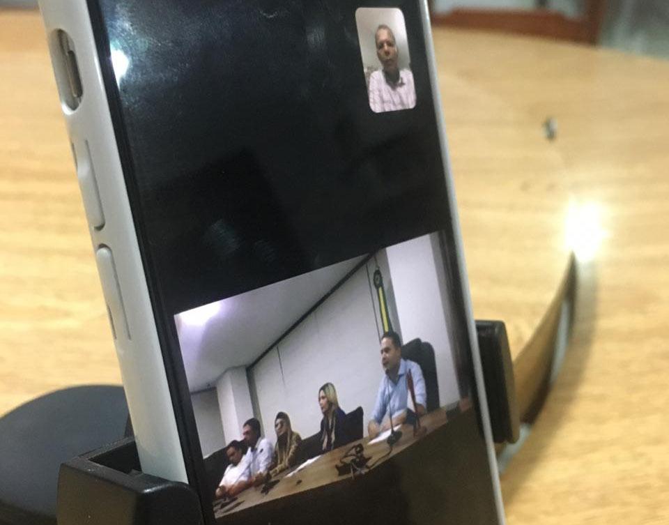 Reunião discutiu e alinhou ações para o enfrentamento da crise.