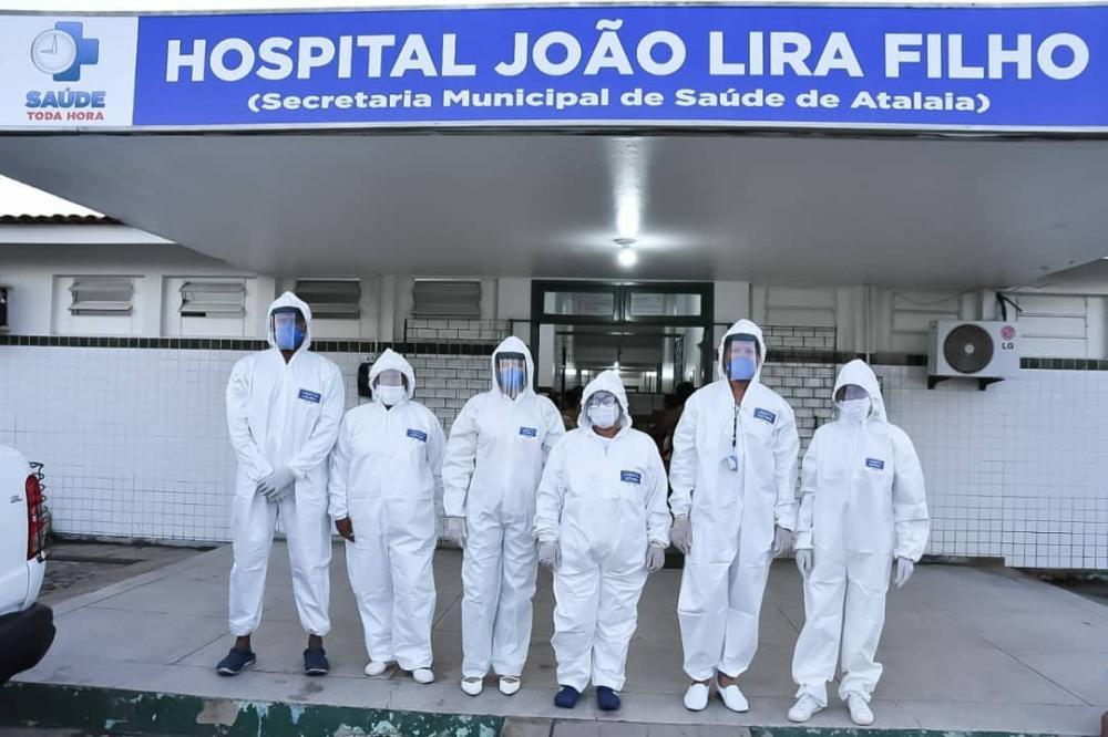 Profissionais da Saúde usam EPIs de proteção ao COVID-19. Foto: Alberto Vicente.