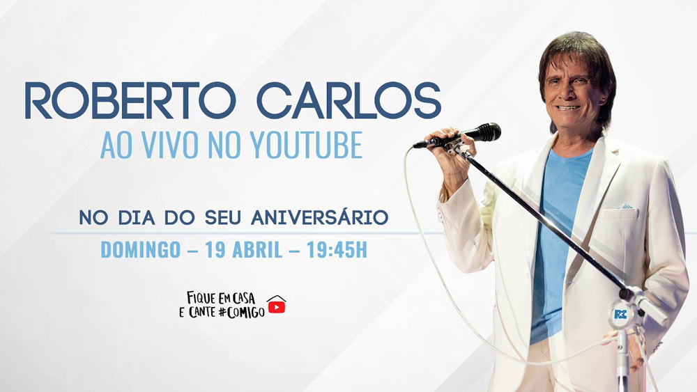 Live do rei Roberto Carlos.