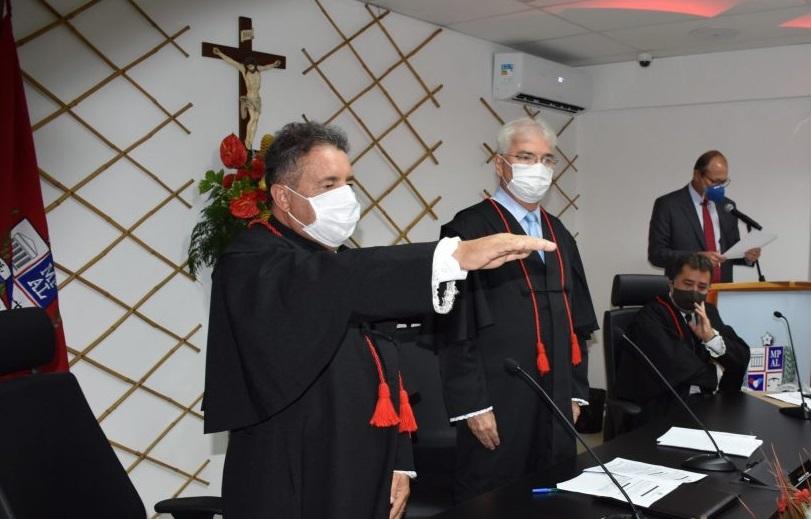 Filho ilustre de Atalaia, Dr. Márcio Roberto toma posse como procurador-geral de Justiça de Alagoas
