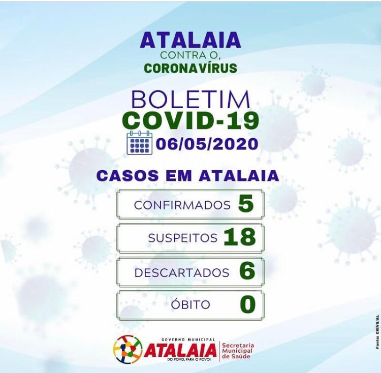 Boletim Informativo foi divulgado na noite desta quarta-feira (06).
