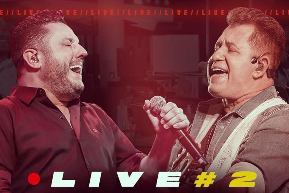Segunda live da dupla Bruno e Marrone é neste sábado (16). Assista Aqui