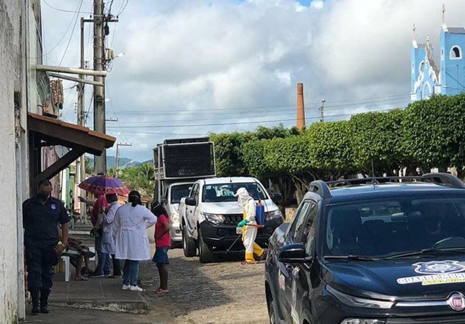 Povoado Porangaba recebe ação do Comitê Municipal de Enfrentamento a Covid-19