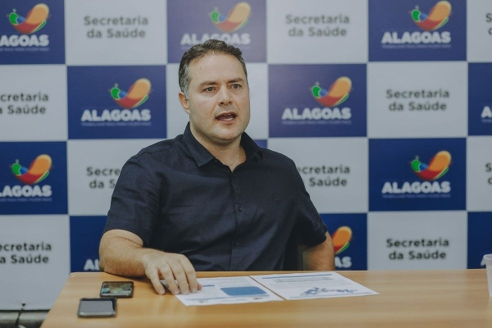 Governador Renan Filho.