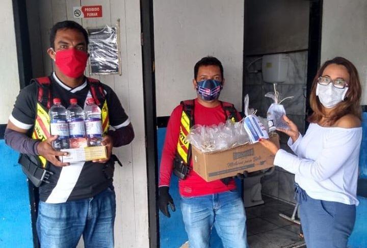 Secretária de Saúde esteve pessoalmente realizando essa ação na sede dos Mototaxistas.