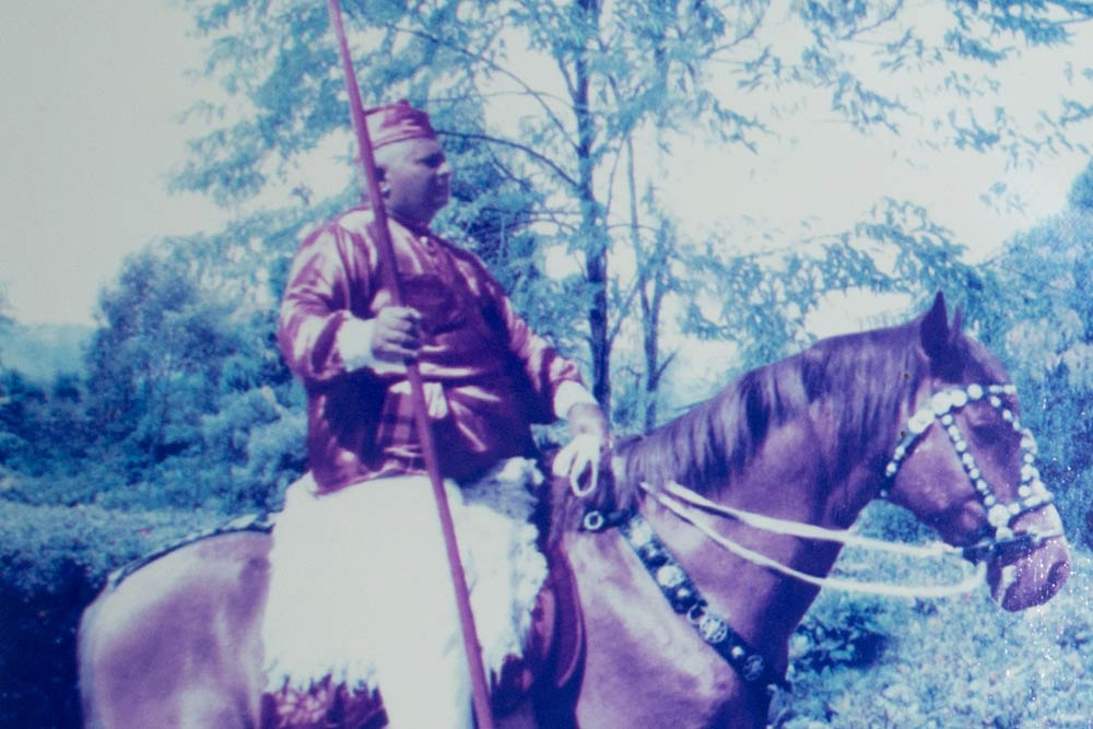 Major Moço, grande nome da Cavalhada em Alagoas.
