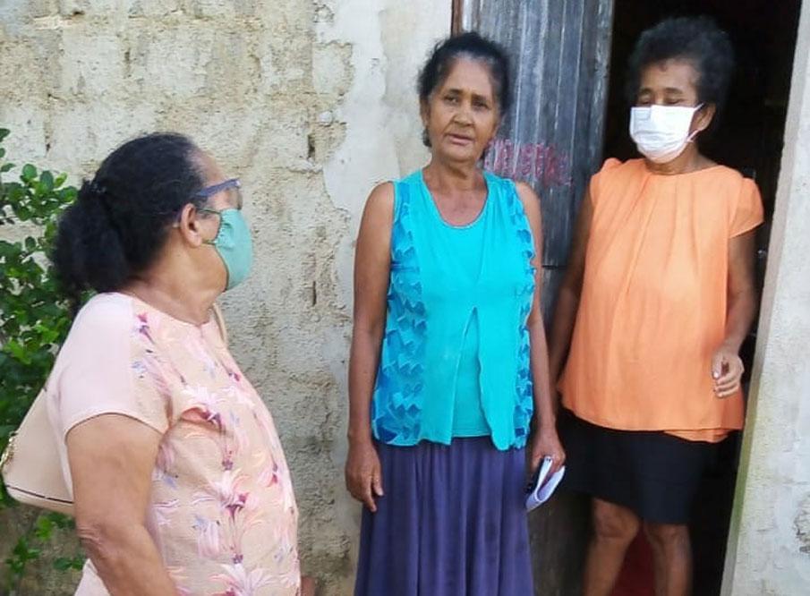 Cras e Caps de Atalaia ajudam idosa a reencontrar familiares na cidade de São Sebastião