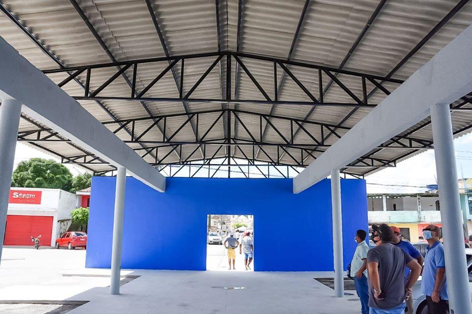 Terminal Rodoviário de Atalaia está passando por ampla reforma