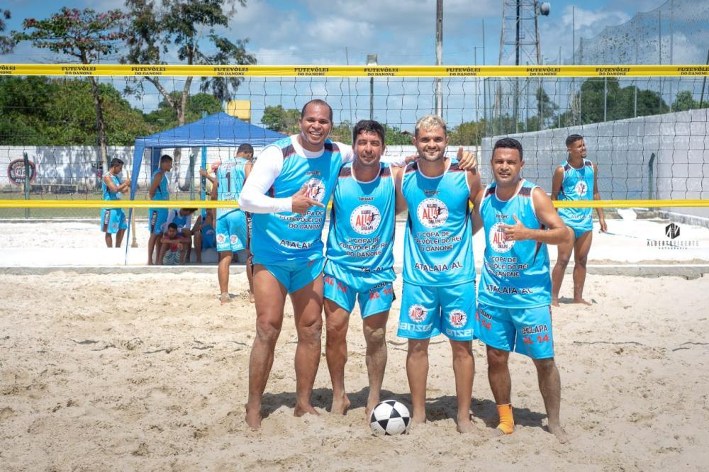Aloísio Chulapa promove torneio de futevôlei em Atalaia