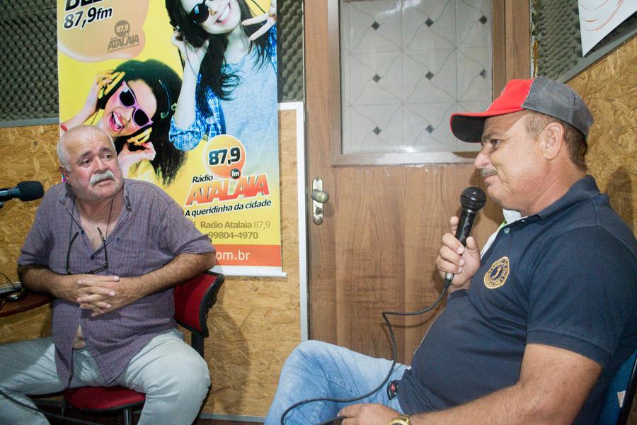 Vereador Marivaldo Souza é entrevistado em programa da Rádio Atalaia FM
