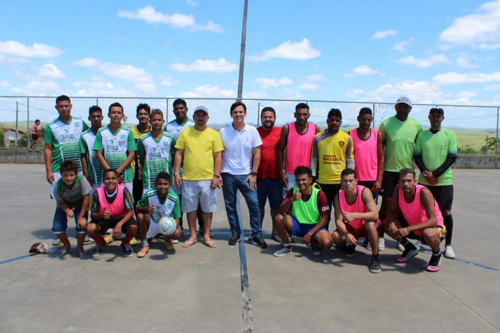 Vereador Quinho realiza torneio de futsal em homenagem aos pais do Conjunto Maria de Nazaré