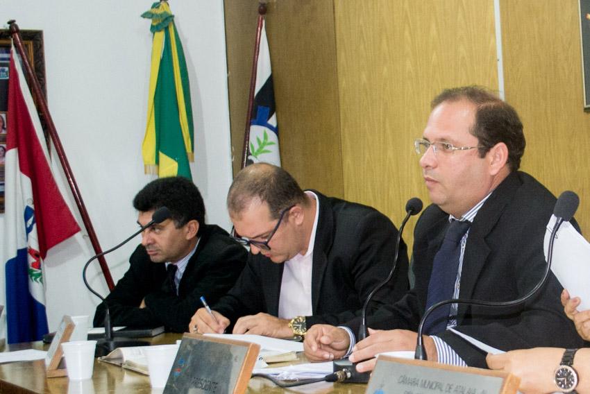 Sessão Ordinária da Câmara Municipal de Atalaia do dia 12 de Junho de 2018