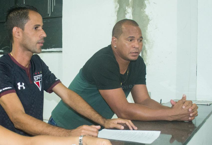 Reunião na Secretaria Municipal de Esportes