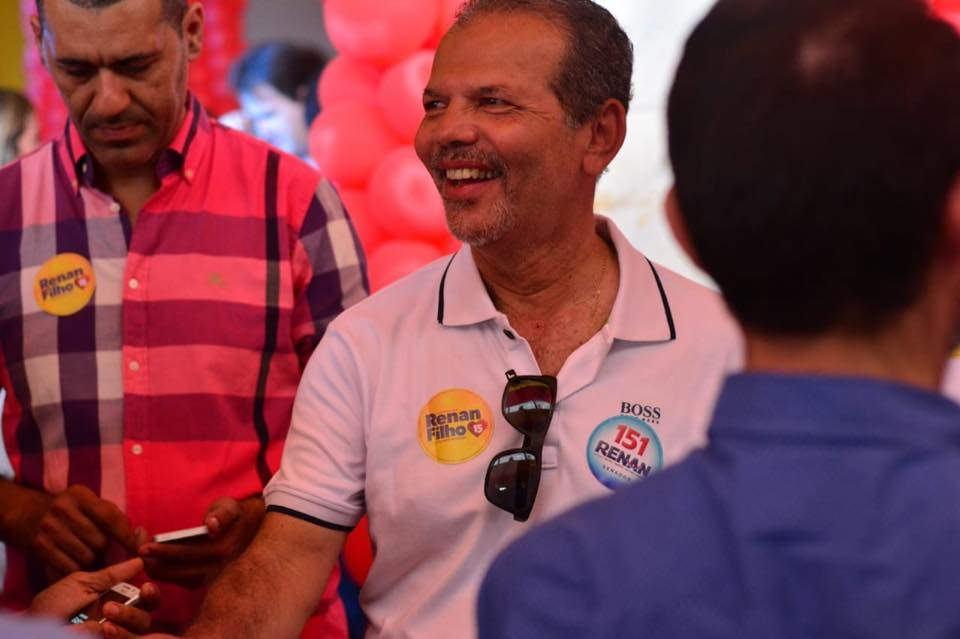 Prefeito de Atalaia prestigia lançamento oficial da campanha à reeleição do governador Renan Filho