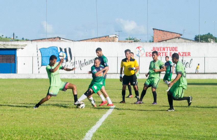 Girador e Santa Lúcia empatam em 1 a 1, em jogo de ida das quartas de finais do Campeonato dos Municípios Alagoanos
