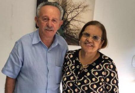 Senador Biu de Lira e Vereadora Maria da Comesa.