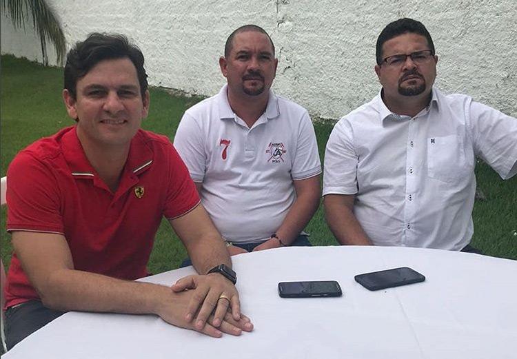 Marcelo Beltrão, Quinho do Portão e Heldre Cabral.