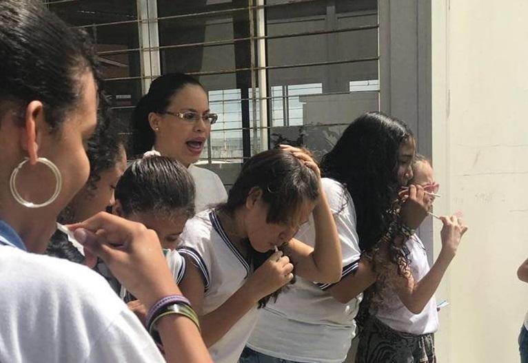 Ação de Saúde Bucal nas escolas da rede municipal de Atalaia