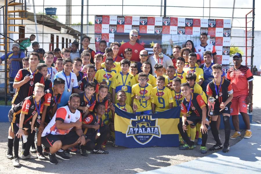 Em Atalaia, 300 jovens participam da I Copa São Paulo categoria Sub-13