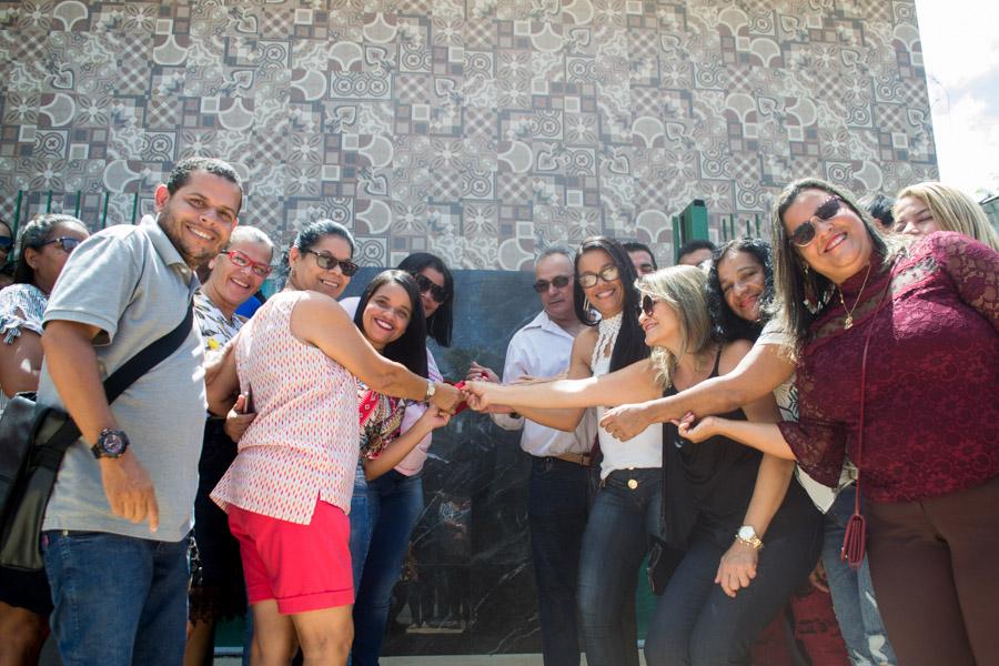 Educadores de Atalaia participam da inauguração da nova sede do SEATA.