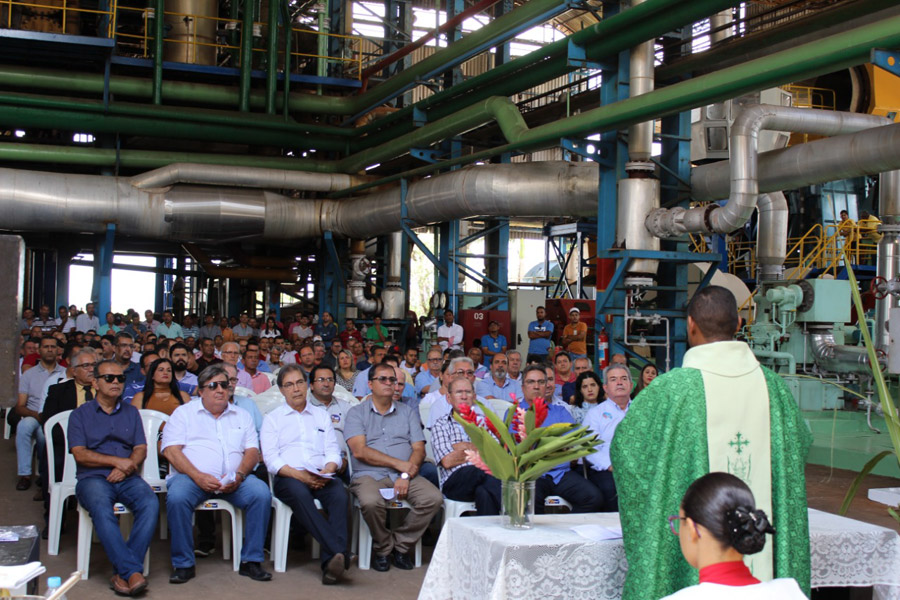 Cerimônia Religiosa marca o início da 4ª moagem da Copervales Agroindustrial