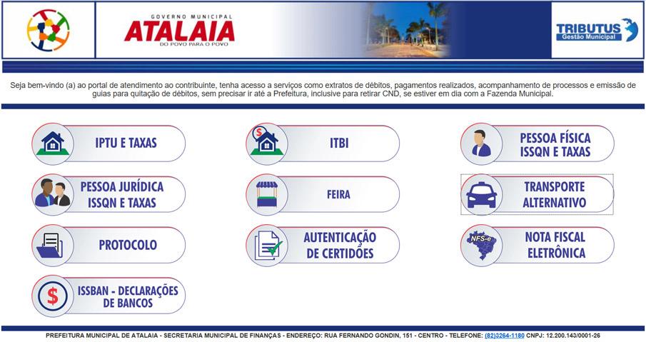 Prefeitura de Atalaia lança Portal do Contribuinte para desburocratizar serviços