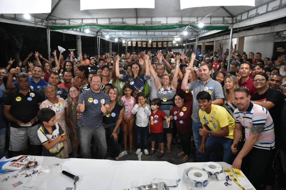 Jó Pereira participa de bate papo com moradores de Atalaia.
