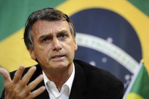 Jair Bolsonaro concorre à Presidência da República pelo PSL.