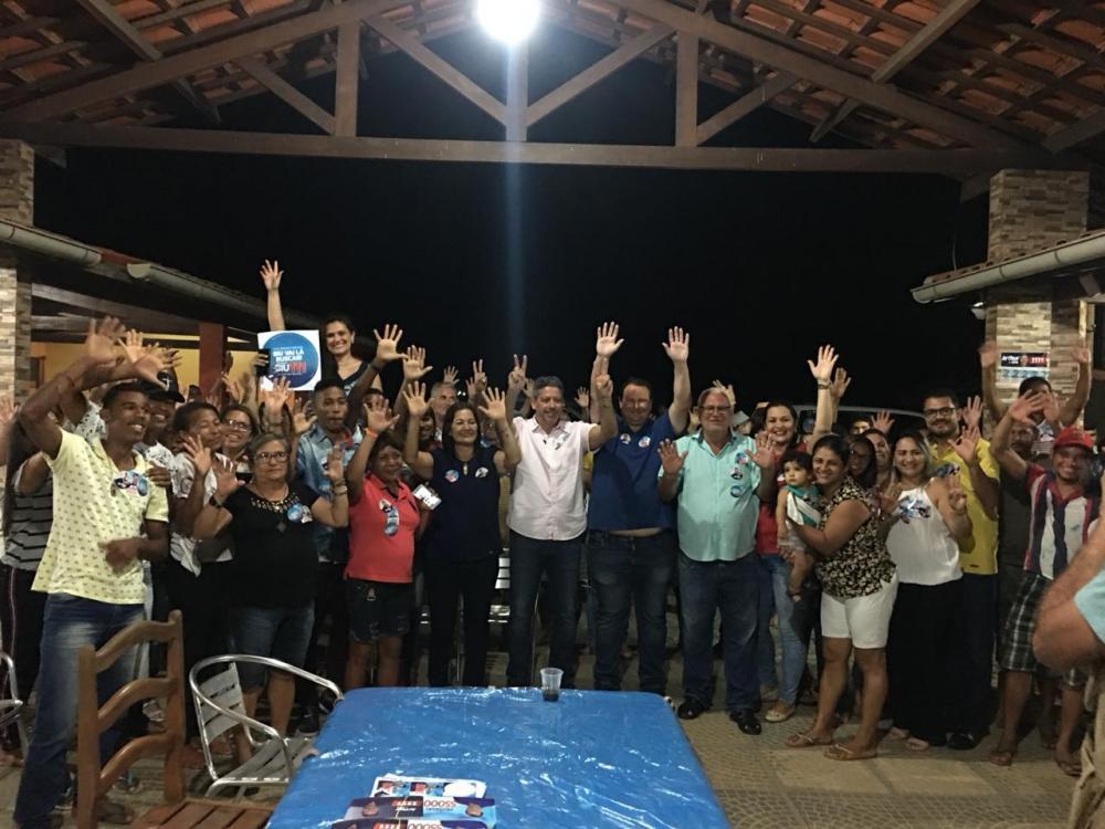 Vereadora Neide Miranda promove encontro em apoio às candidaturas de Arthur Lira e Hollanda