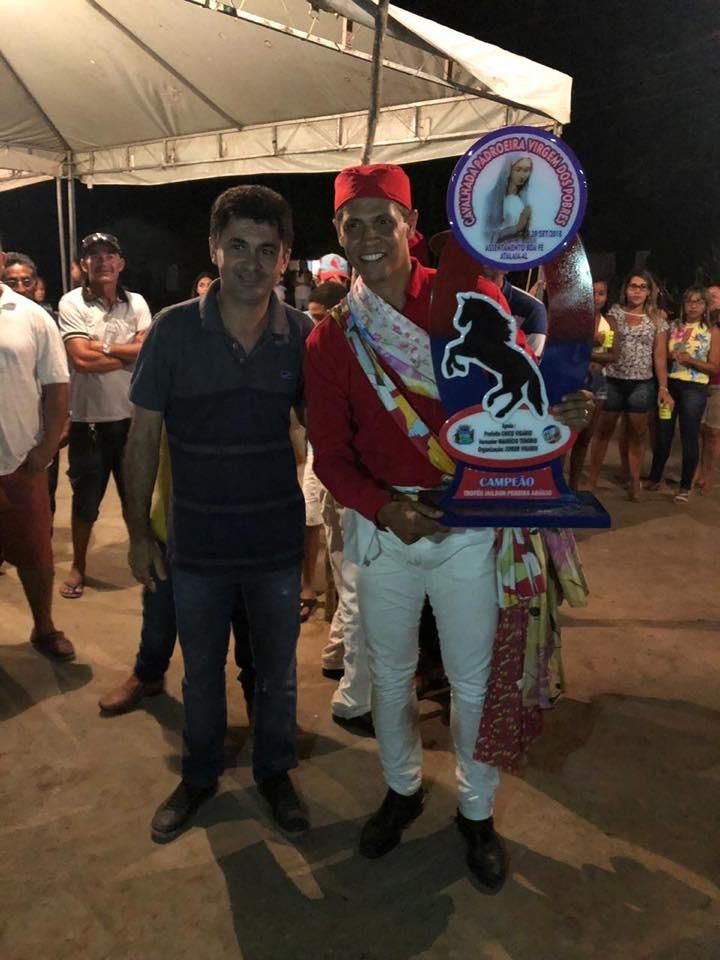 Em Boa Fé, prefeito e vice-prefeito prestigiam a festa da padroeira Nossa Senhora Virgem dos Pobres