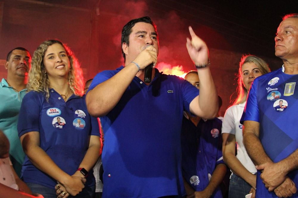 Atalaienses abraçam a candidatura de André Monteiro em uma grande caminhada e carreata pelas ruas da cidade