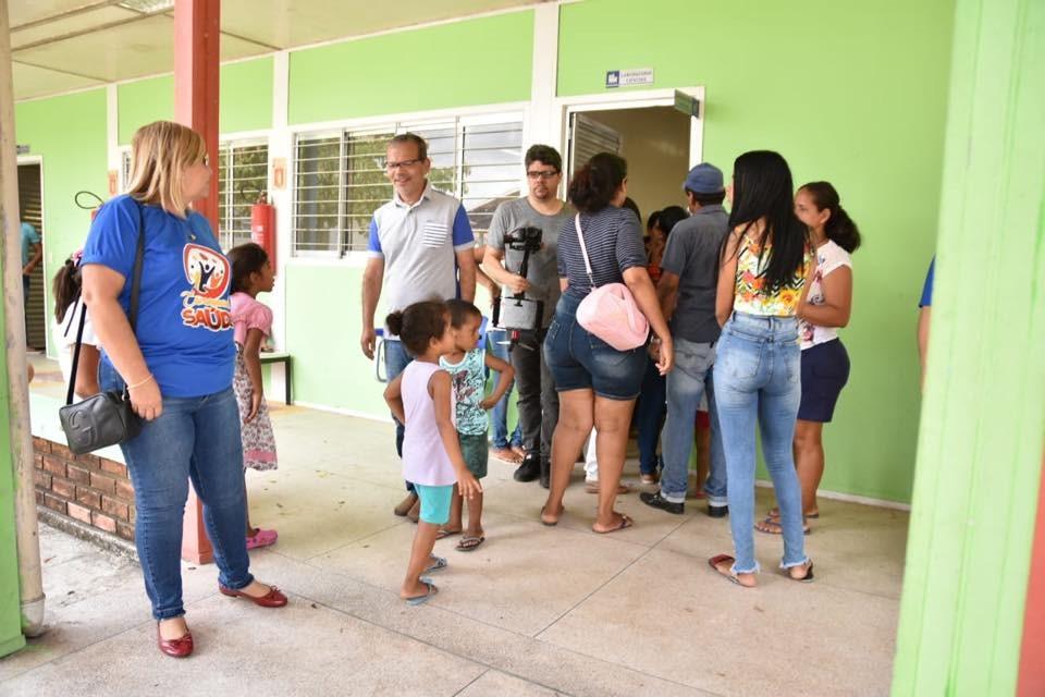 Caravana da Saúde realiza mais de 2.500 atendimentos no Distrito Branca