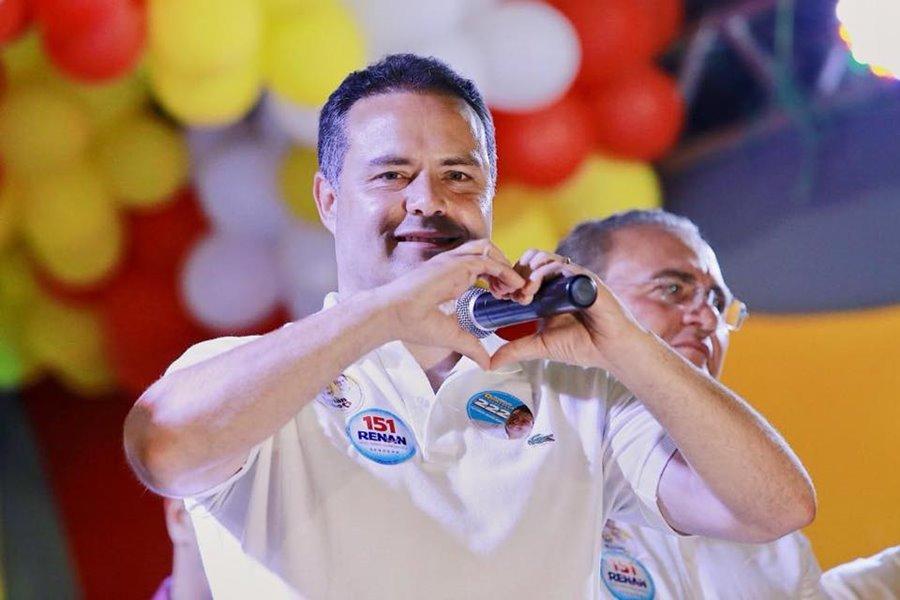 Númer mostram que Renan Filho será reeleito no próximo domingo (07).