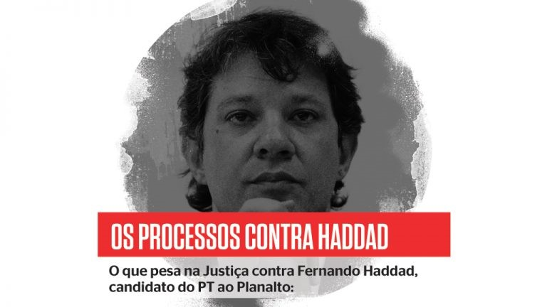 Uma extensa ficha corrida: Haddad, o candidato de 32 processos