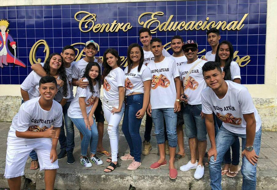 Grupo Atuar é formado por alunos do CEPP.
