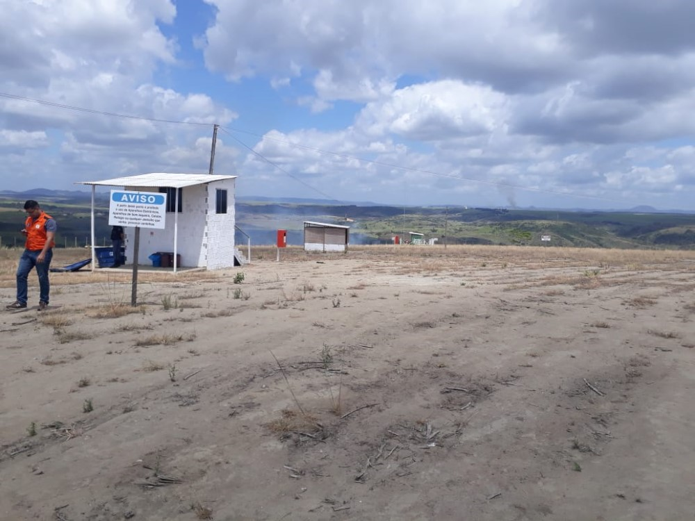 Defesa Civil realiza vistoria técnica para que empresa especializada em serviços geofísicos funcione em Atalaia