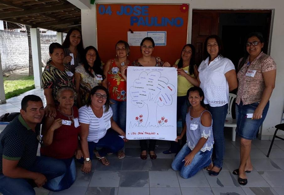 NASF Vila dá sequência ao projeto Cuidando do Cuidador com ações na USF do bairro José Paulino
