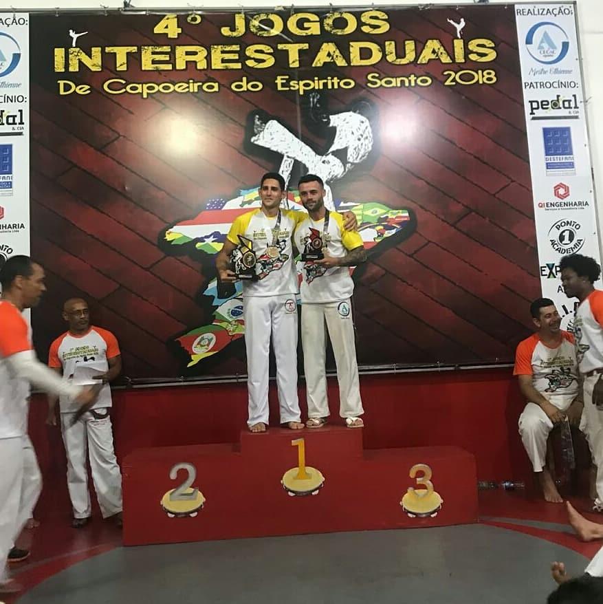 Atalaiense é bicampeão dos Jogos Interestaduais de Capoeira do Espírito Santo