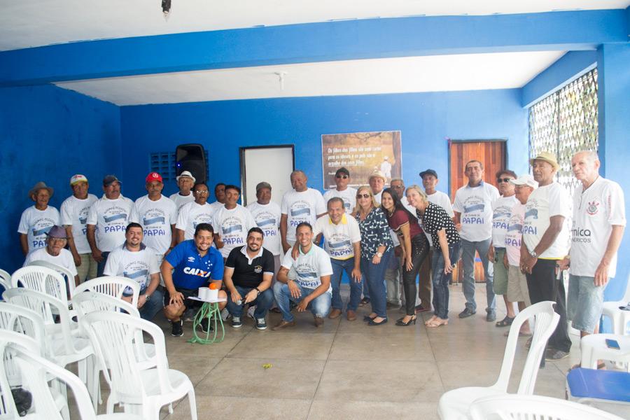 CRAS promove homenagem aos pais do Grupo Vivendo Melhor na Terceira Idade